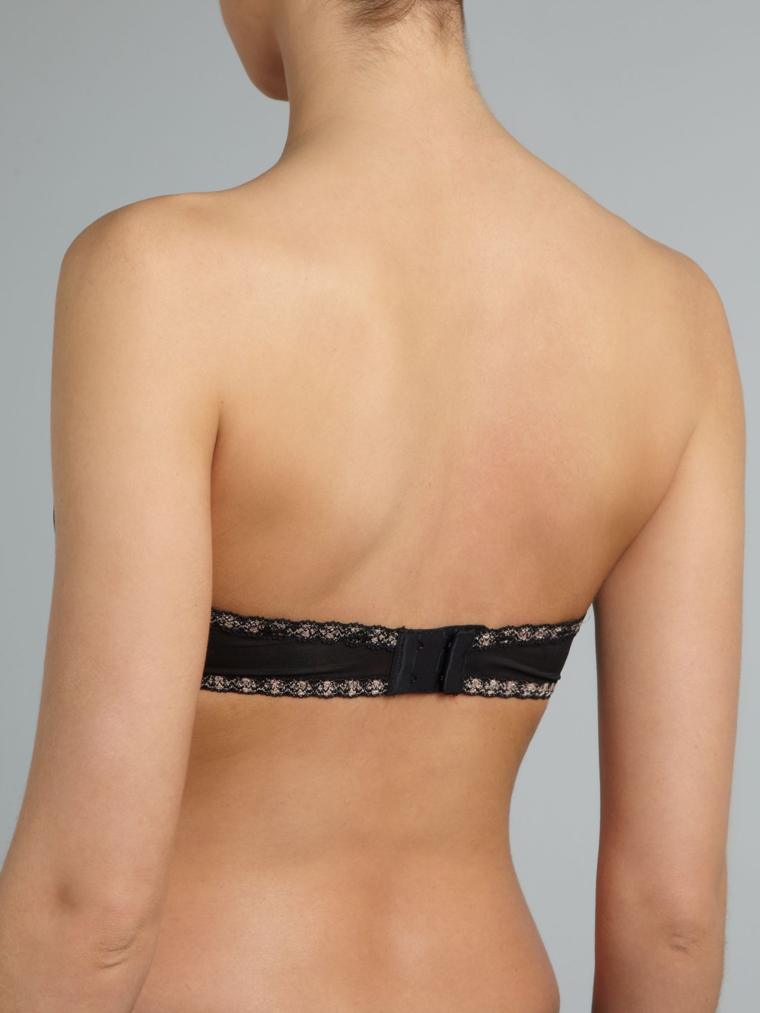 Faithfully yours strapless push up bra