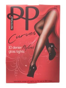 10 Denier nylon tights