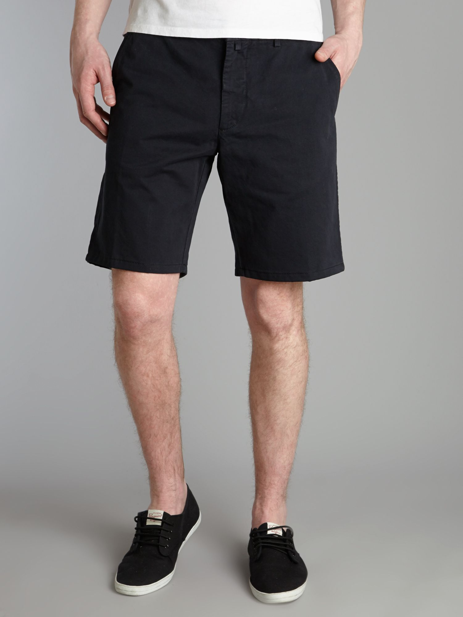 Preppy bermuda shorts