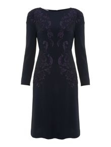 Philosophy Long sleeve embroidered dress
