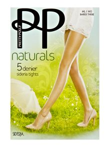 Pretty Polly Sideria 5 denier tights