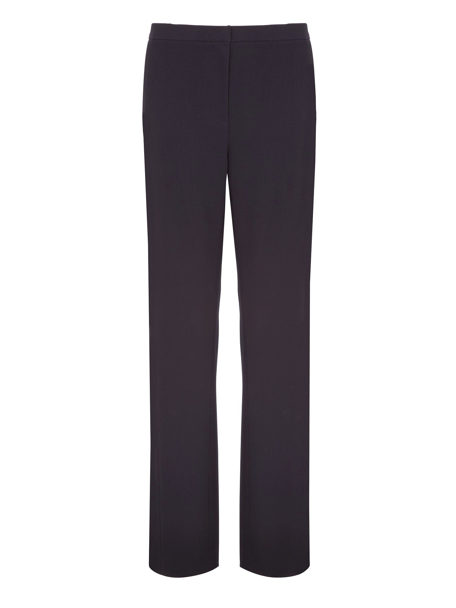 Navy Panelled Trousers