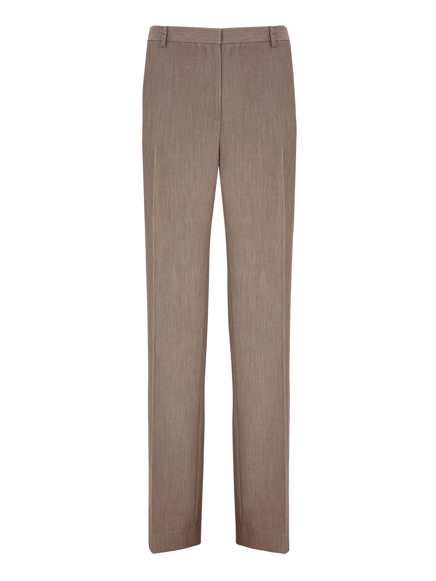 Fawn Straight Leg Trousers
