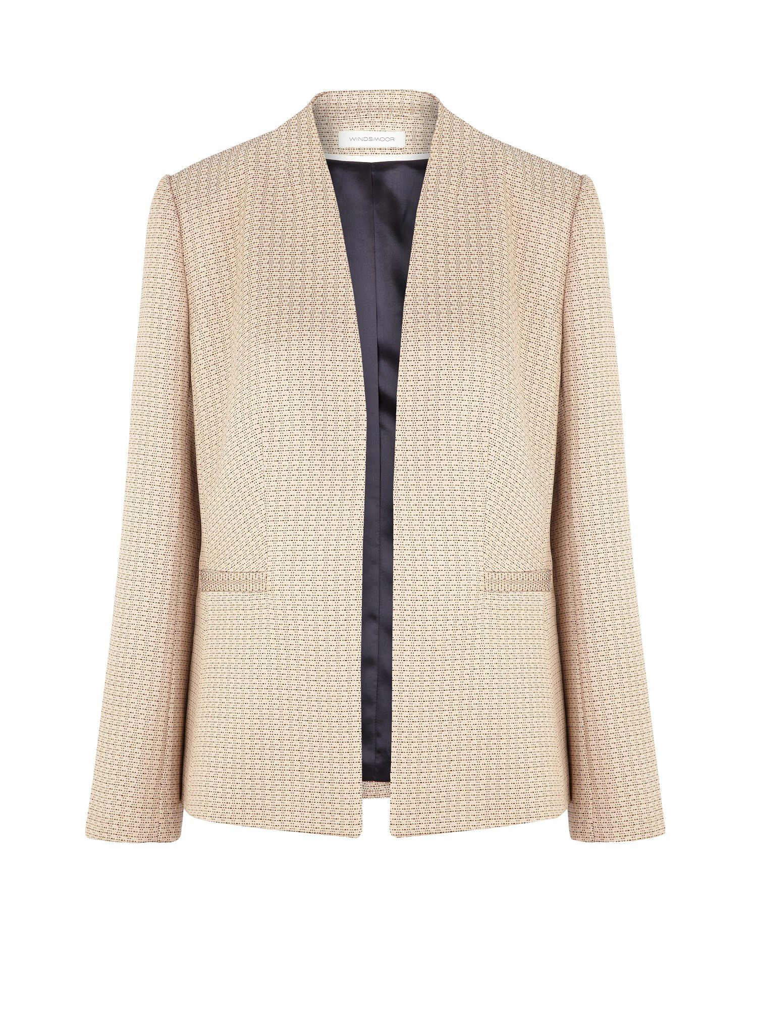 Blush Tweed Jacket