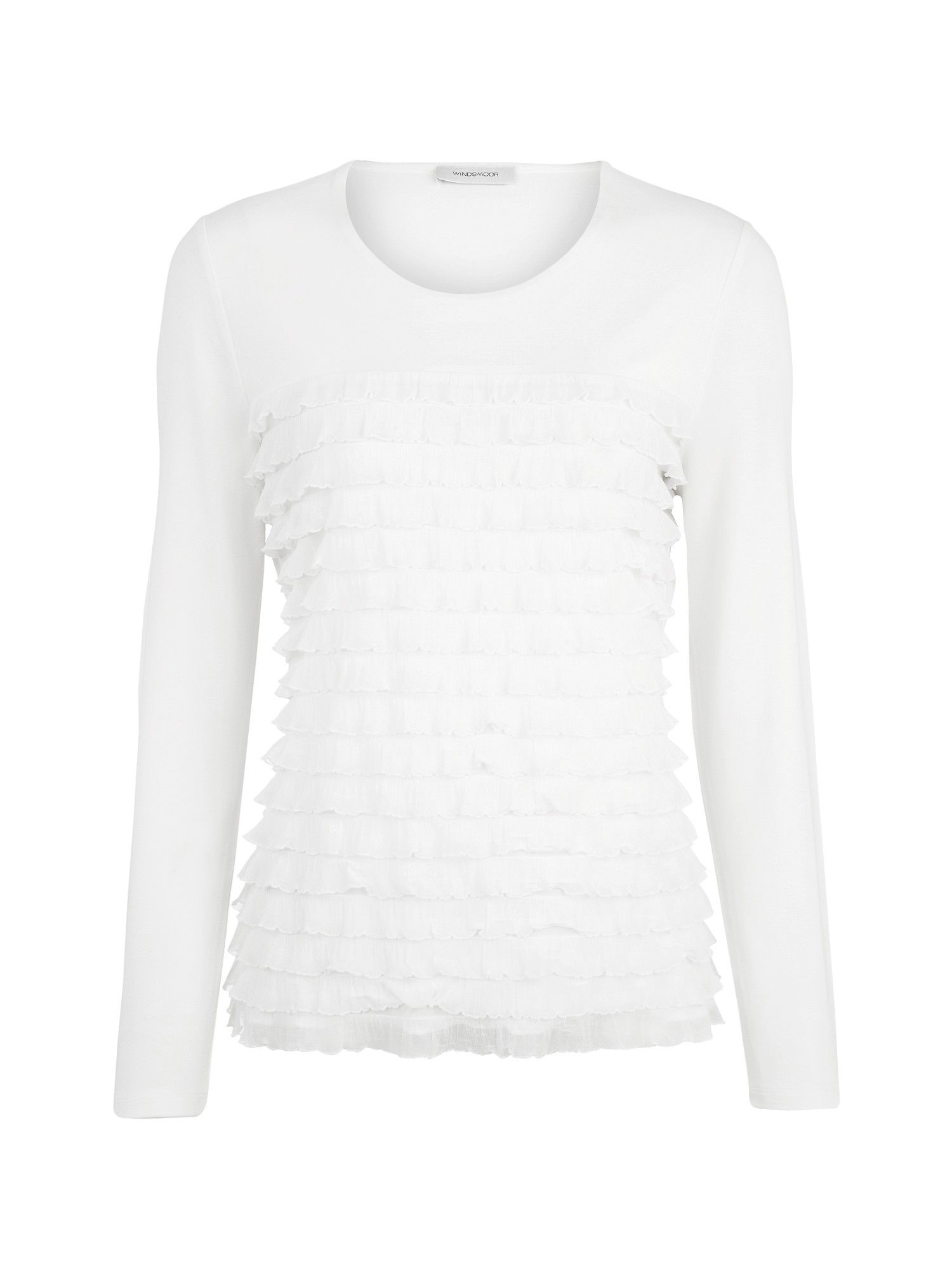 Ivory Layered Top