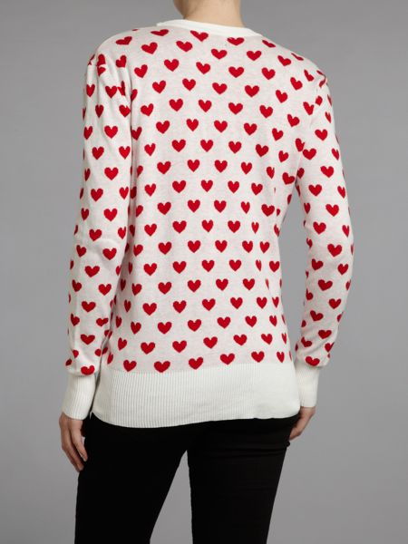 Sodamix Love heart cardigan