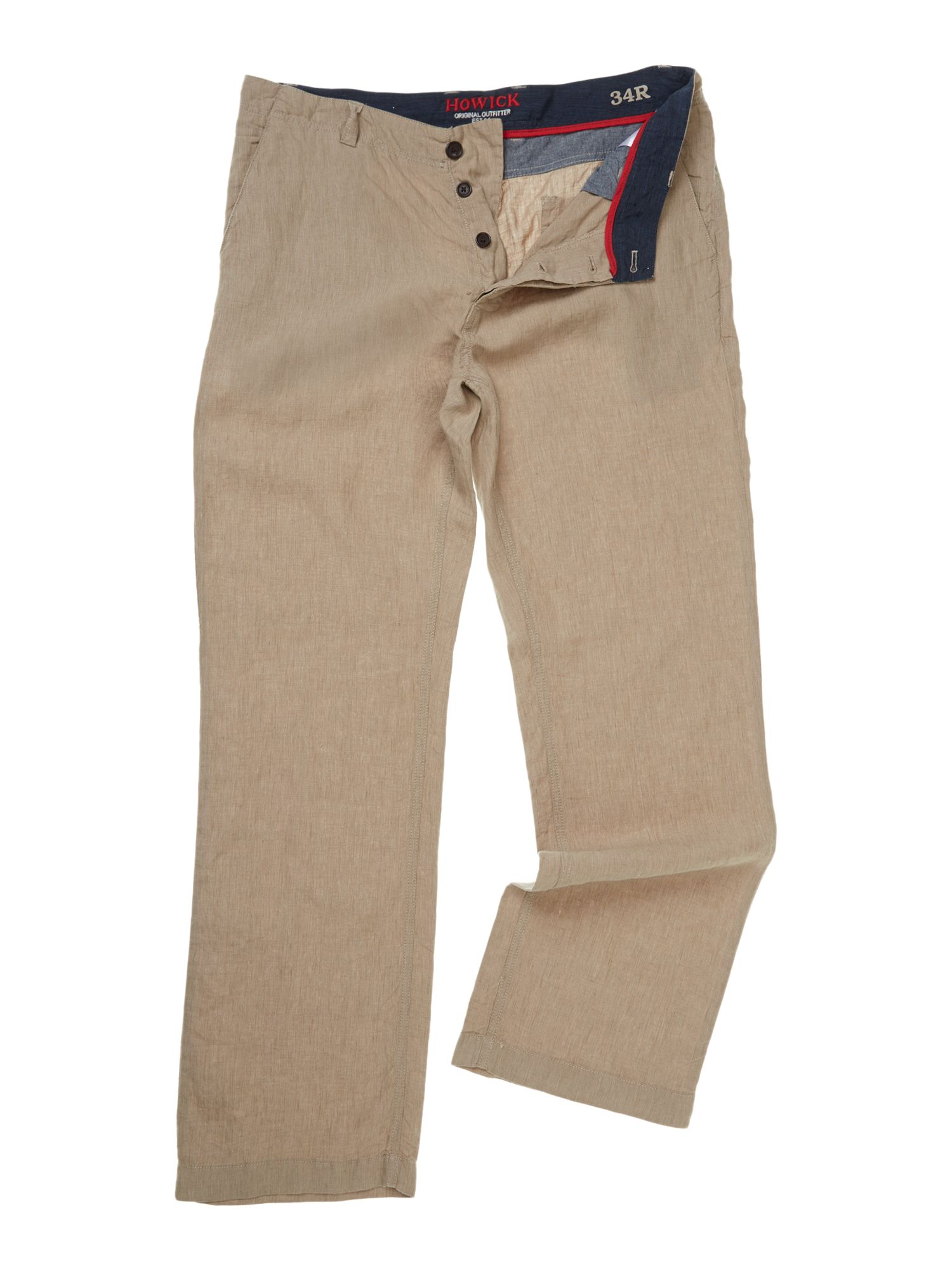Safari linen trousers