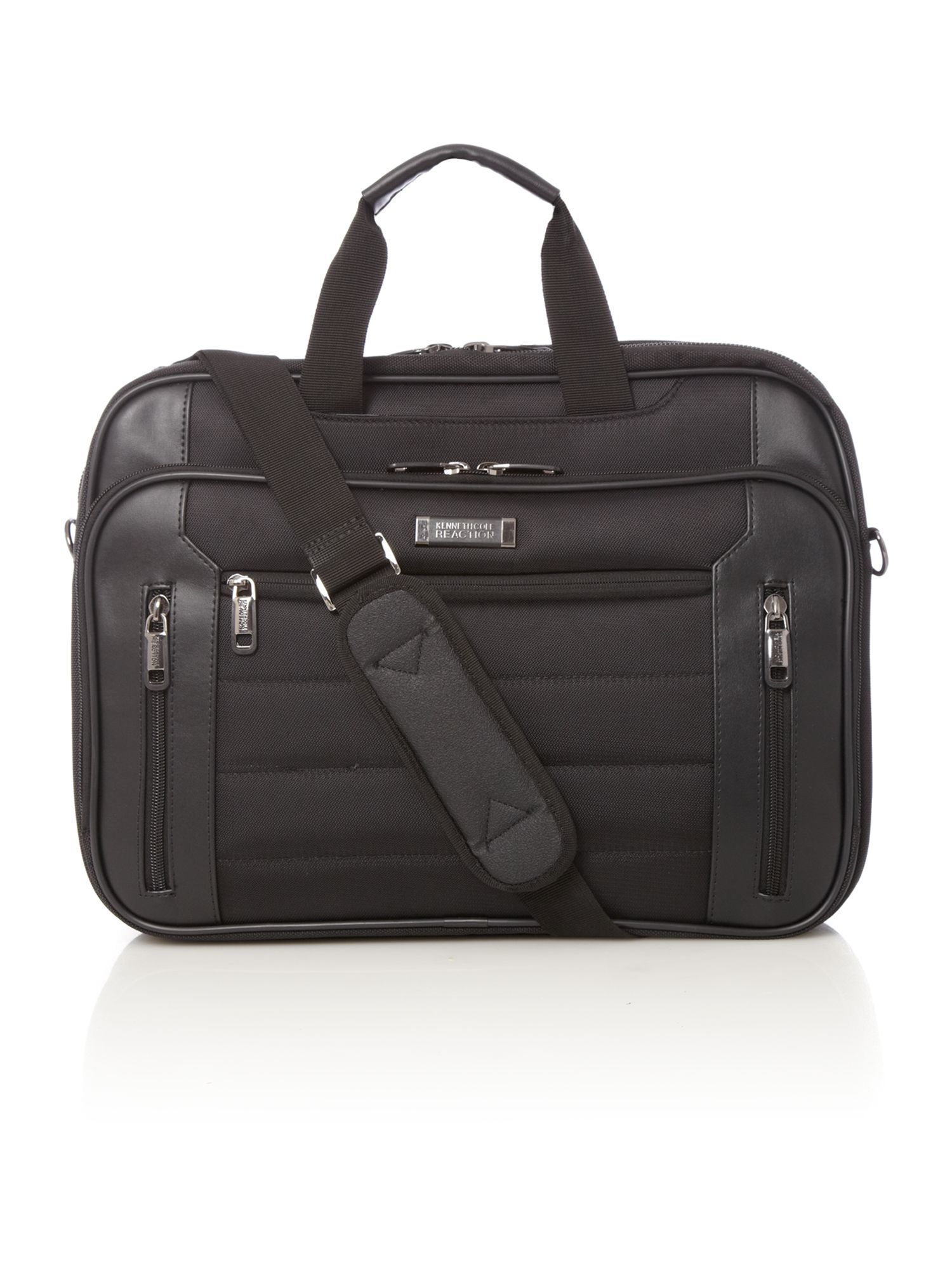 Kenneth Cole Reaction 5 Dbl Gusset Case 17.3 Computer