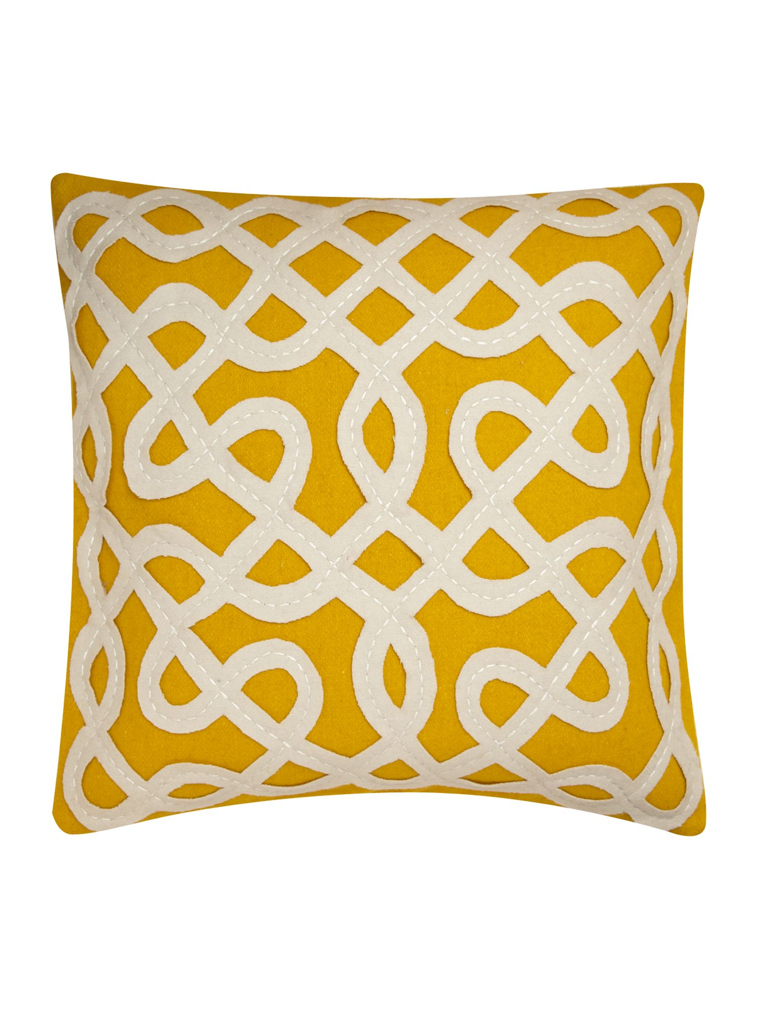 Maze citrine lounge cushion