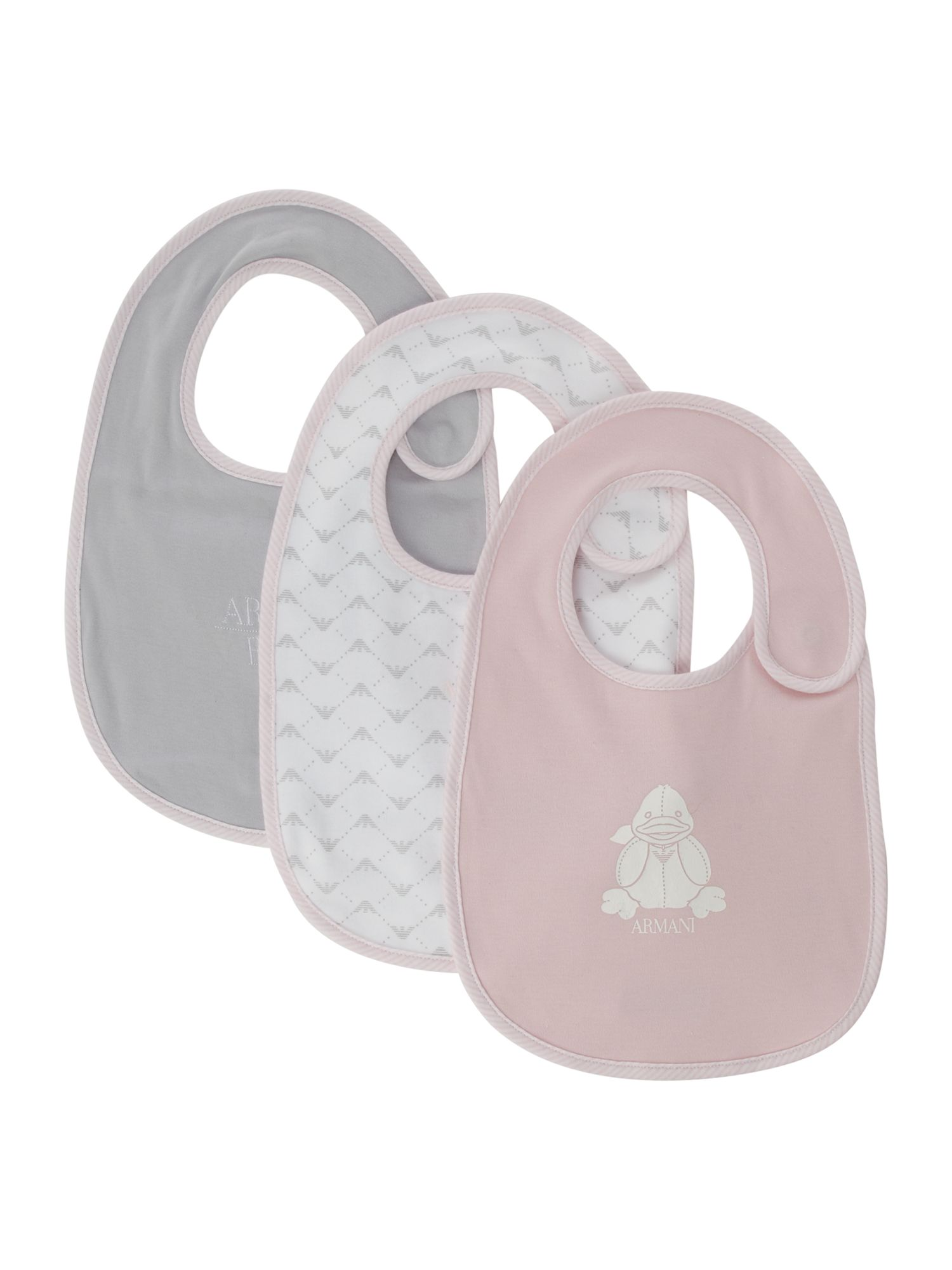 Baby girl`s 3 pack bib giftbox