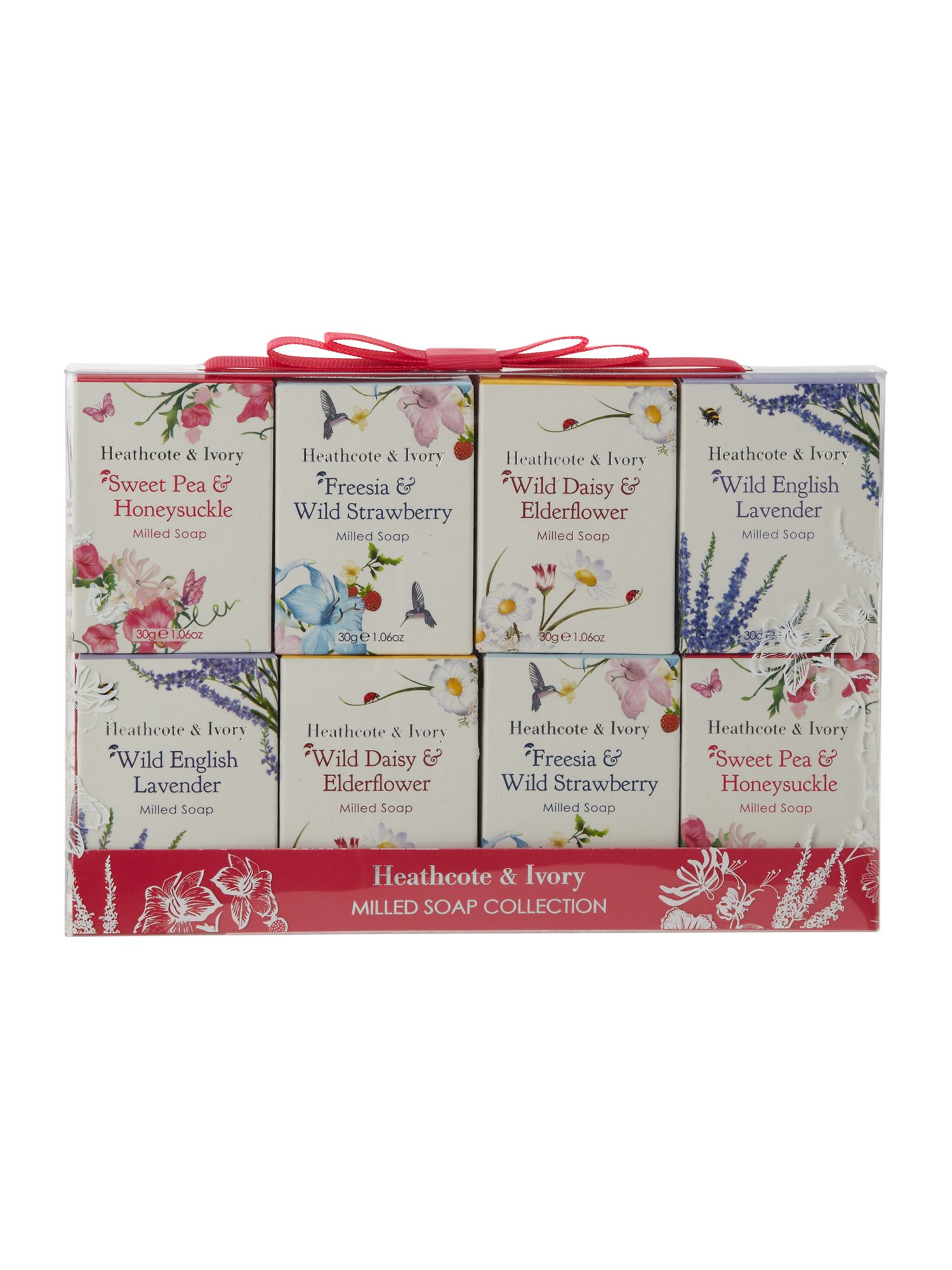 Floral Fragrance Soap Collection