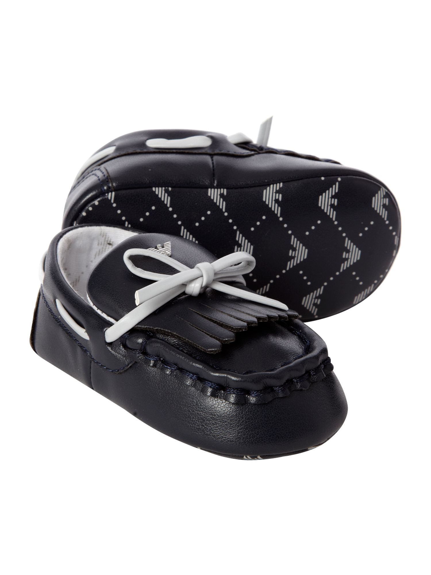 Baby boy`s tasselled loafers
