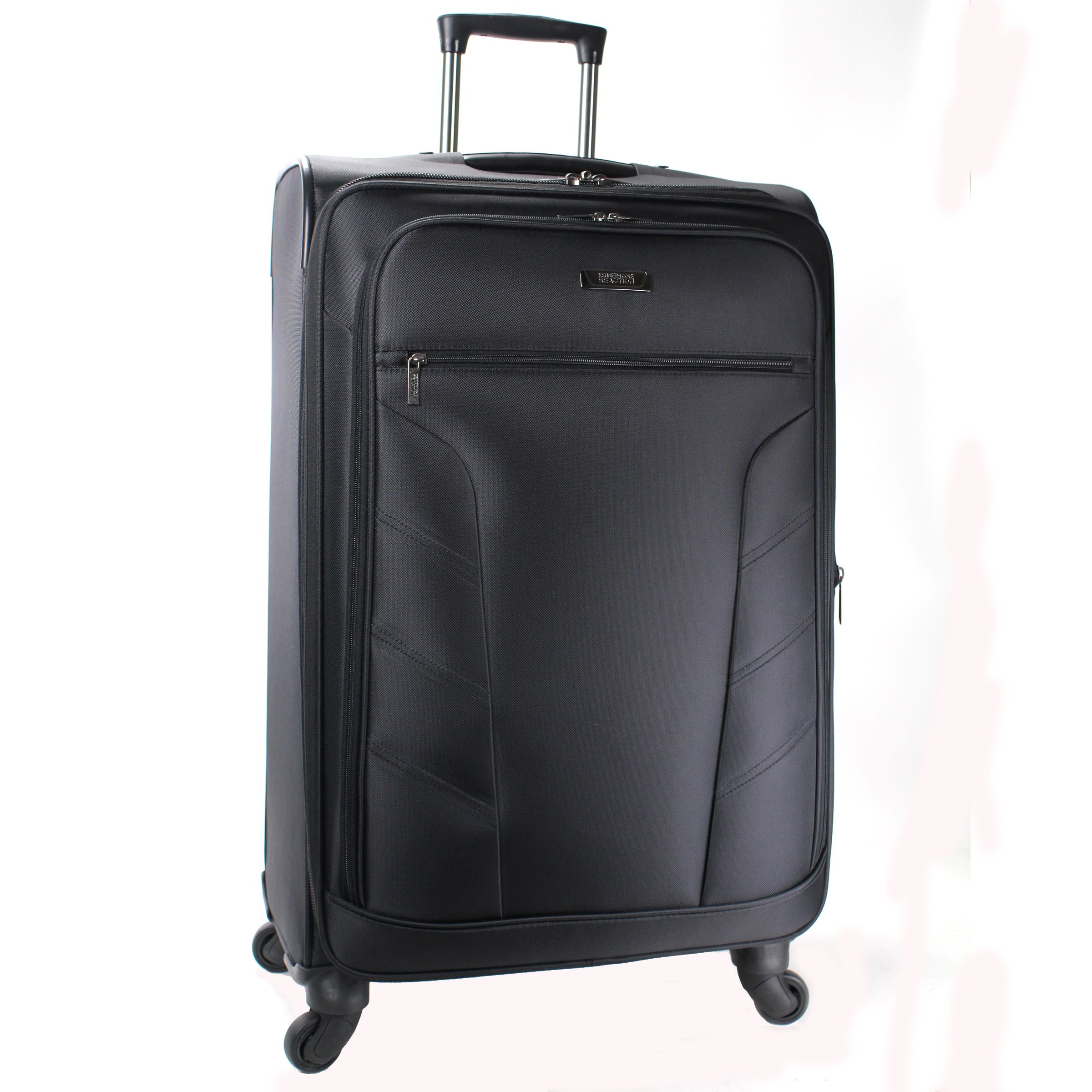 Flying high 4 wheel large suitcase