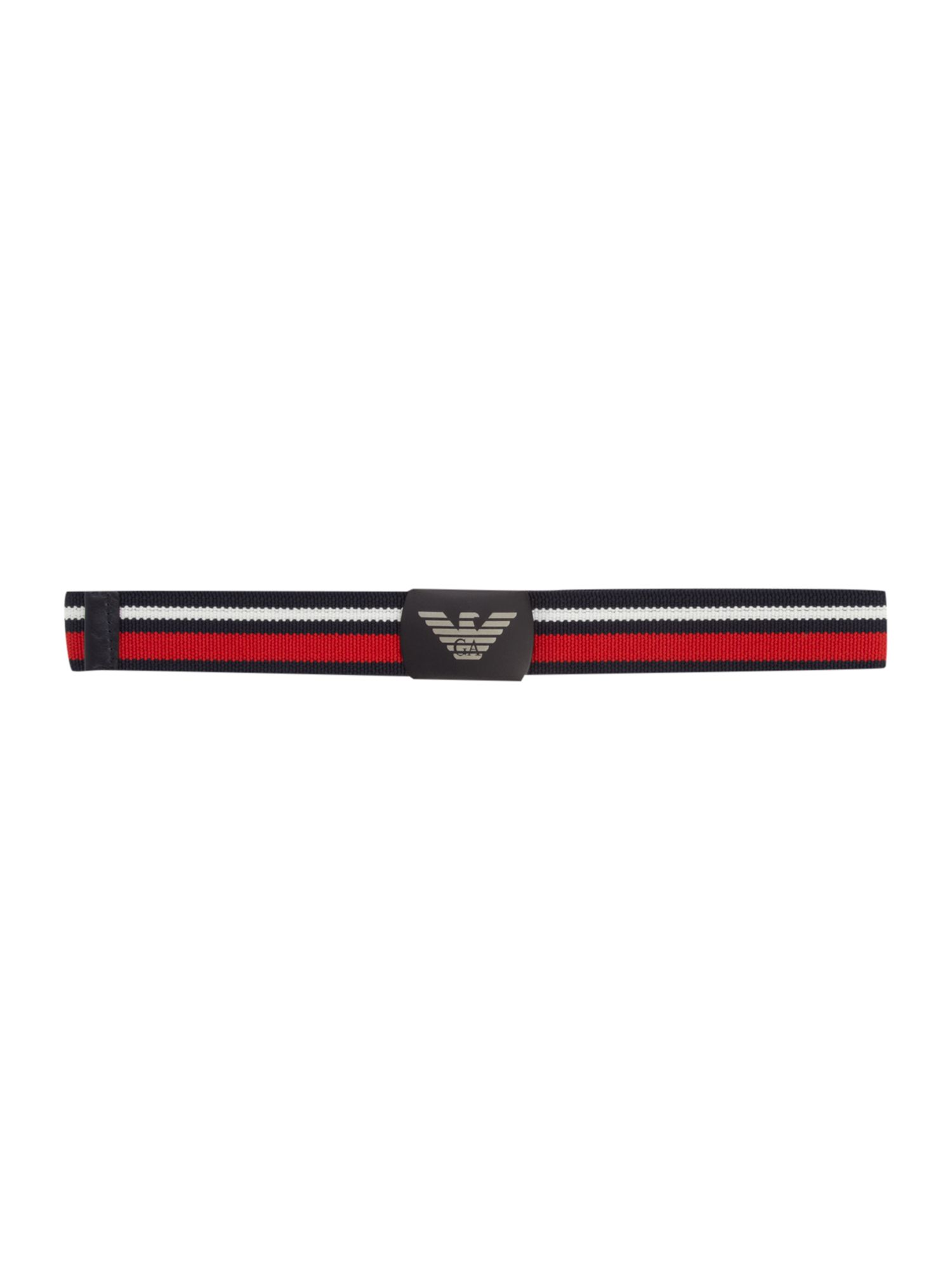 Boy`s logo printed belt