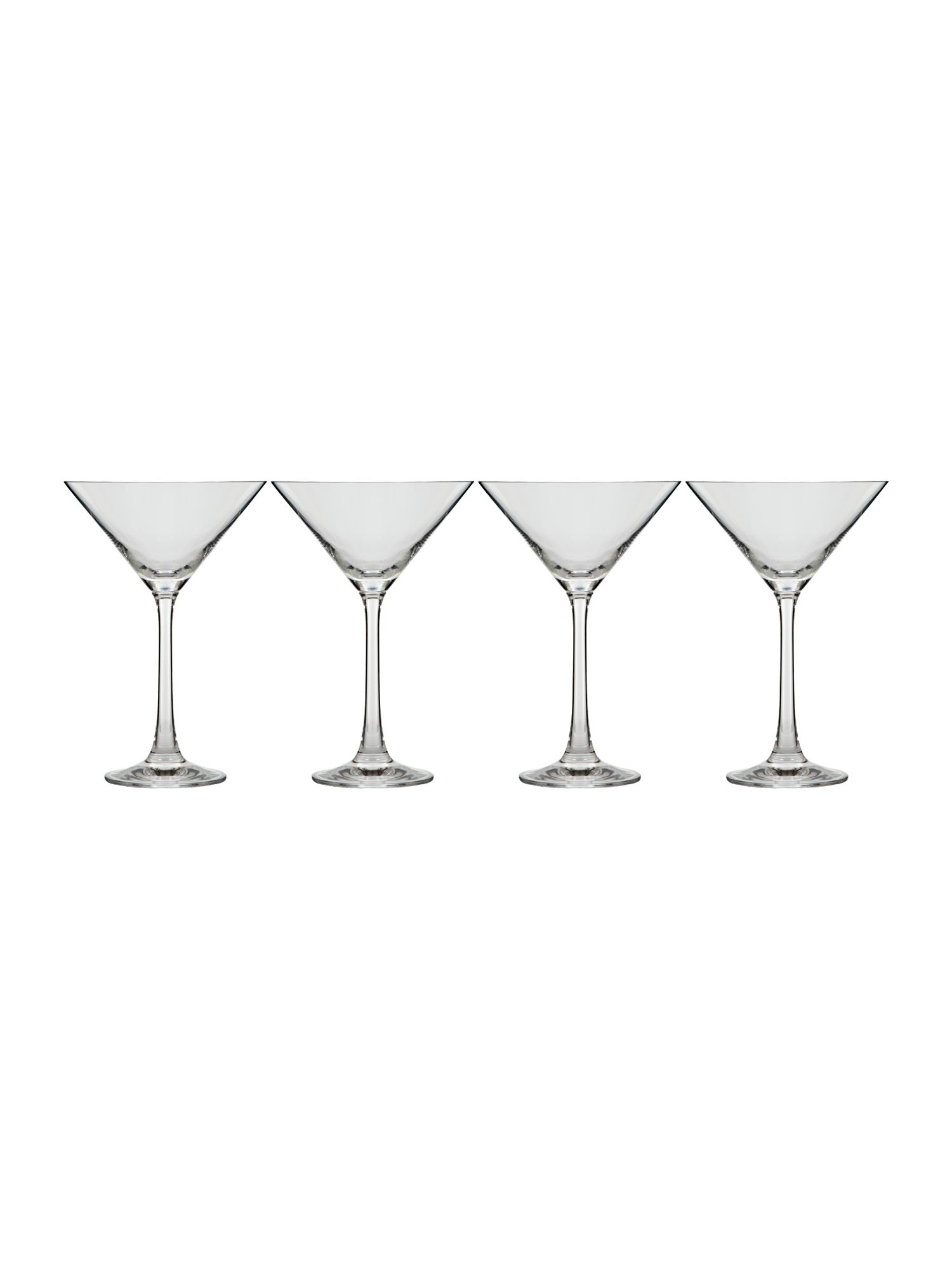 Emily martini glasses set of 4