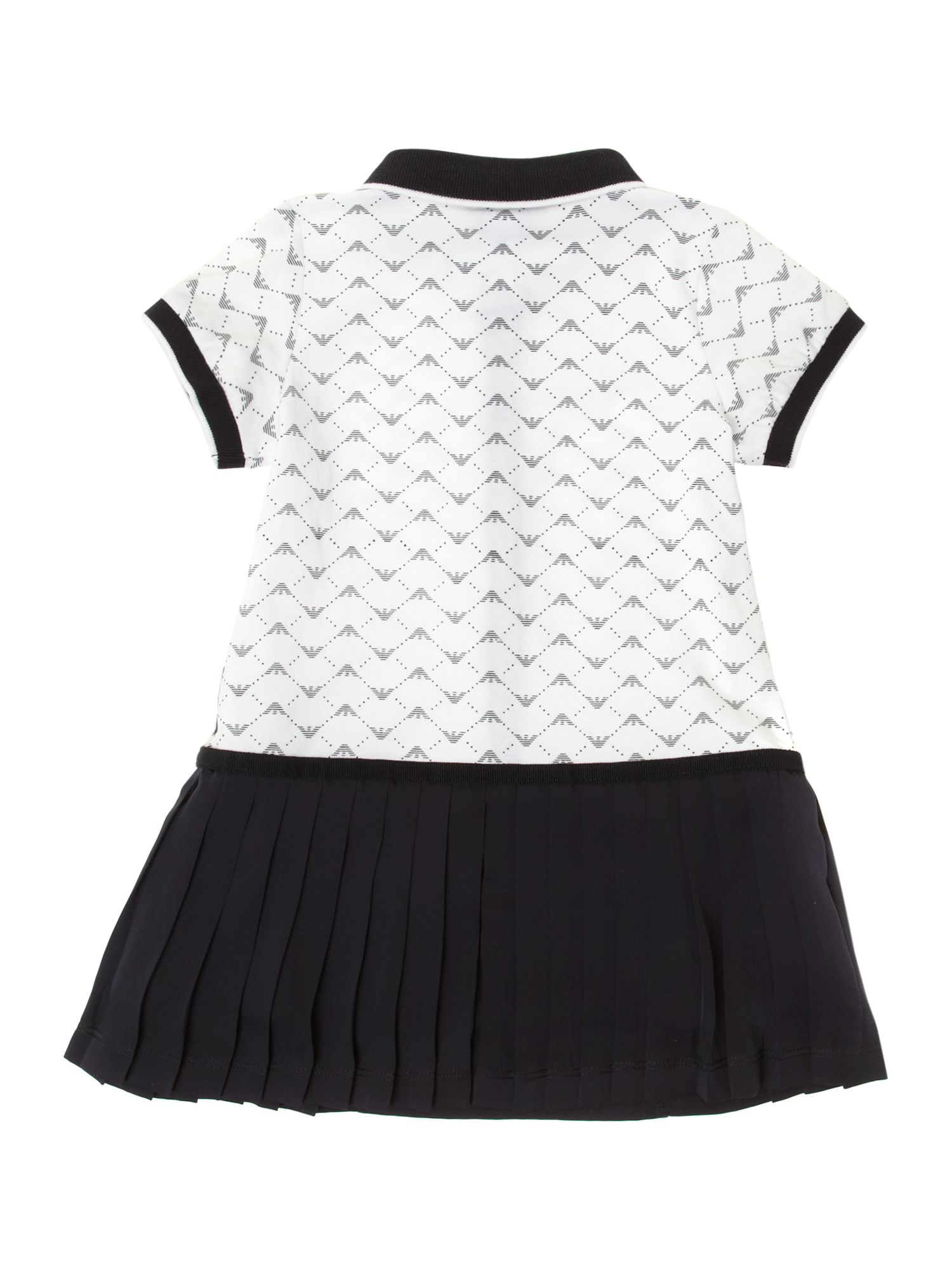 Girl`s all over logo tennis dress