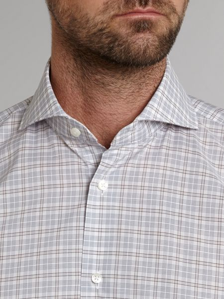 Tommy Hilfiger Multi check shannon fit formal shirt