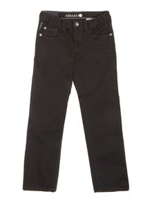 Boy`s navy gaberdine trousers