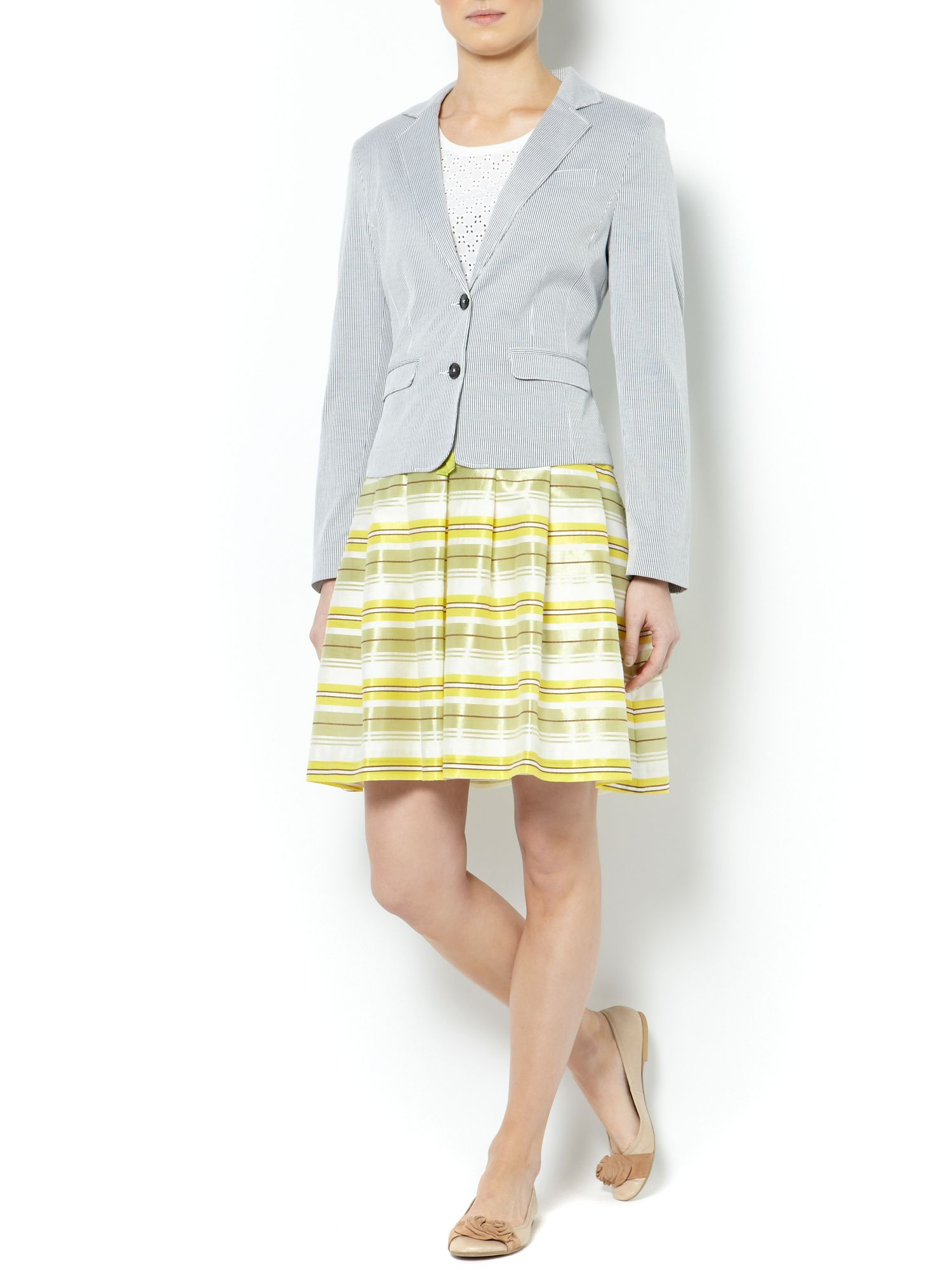 Ladies pinstripe blazer