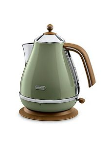 Vintage icona green kettle