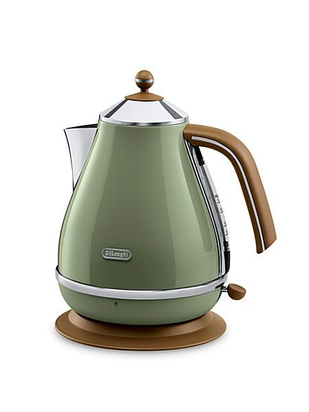 Delonghi Vintage icona green kettle