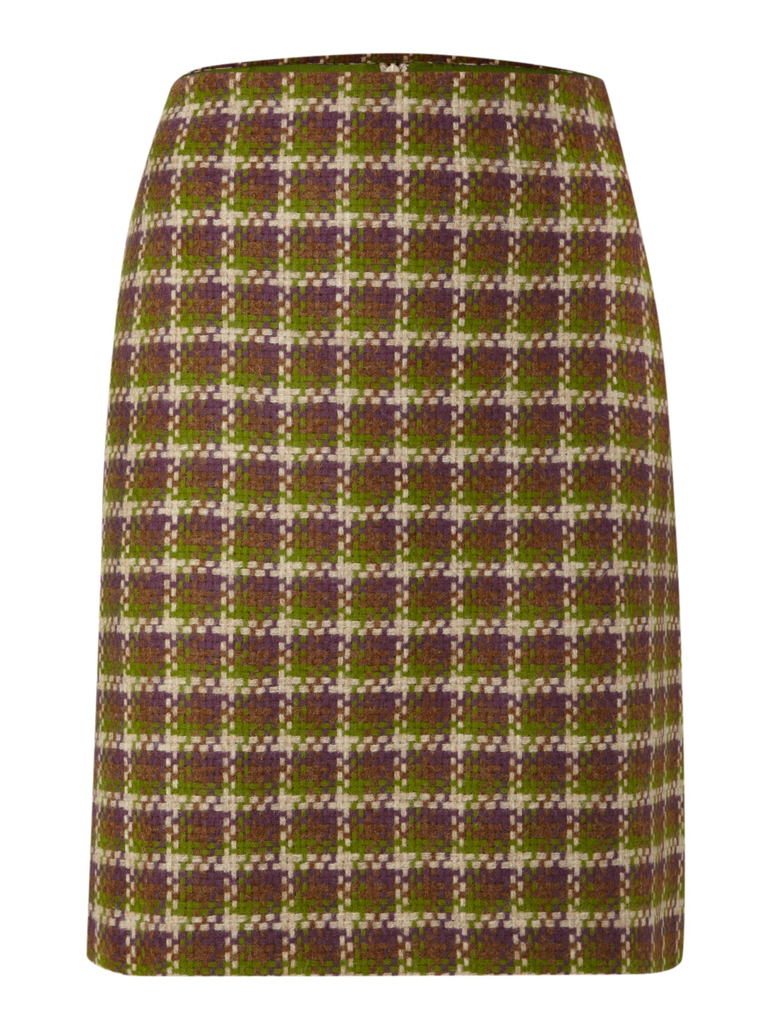 Ladies British Check Mini Skirt