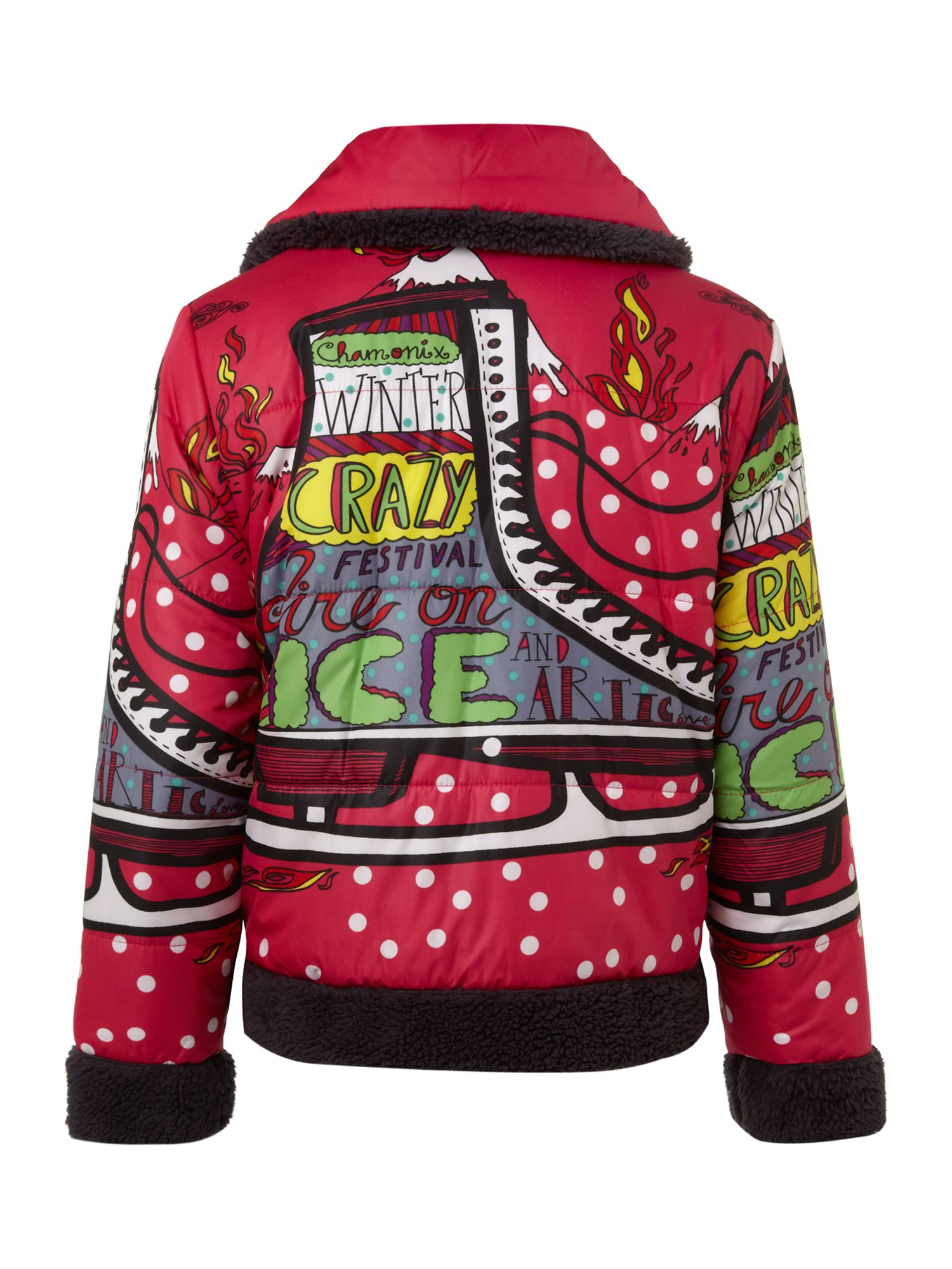 Girl`s montana crazy jacket