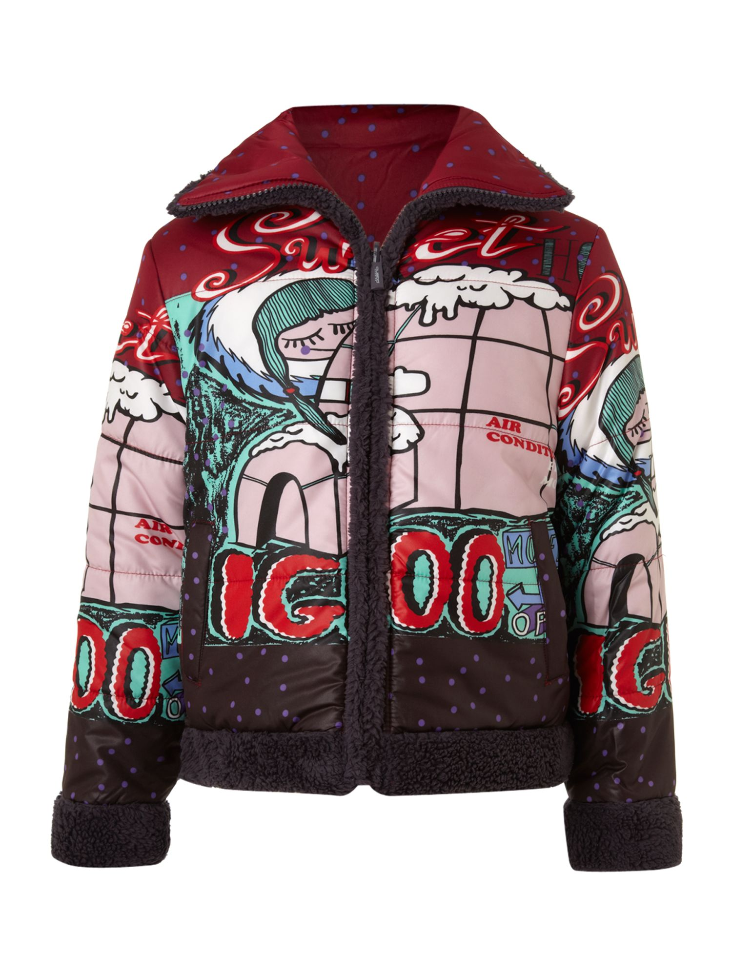 Girl`s montana igloo jacket
