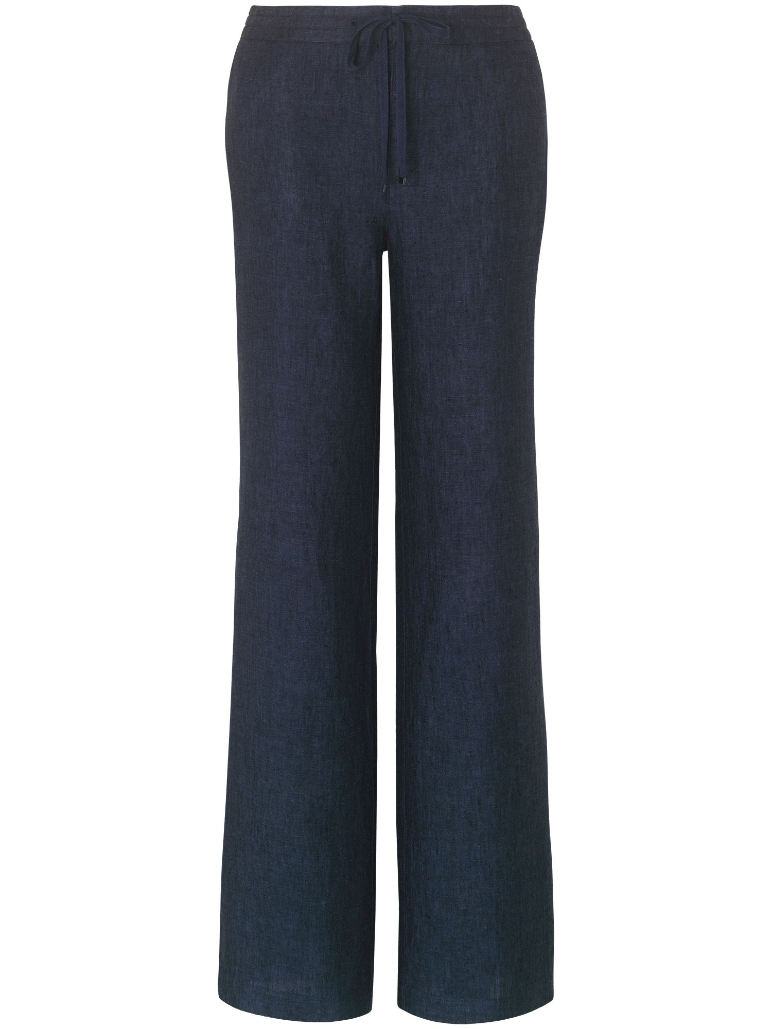 Carla cross dye linen trousers