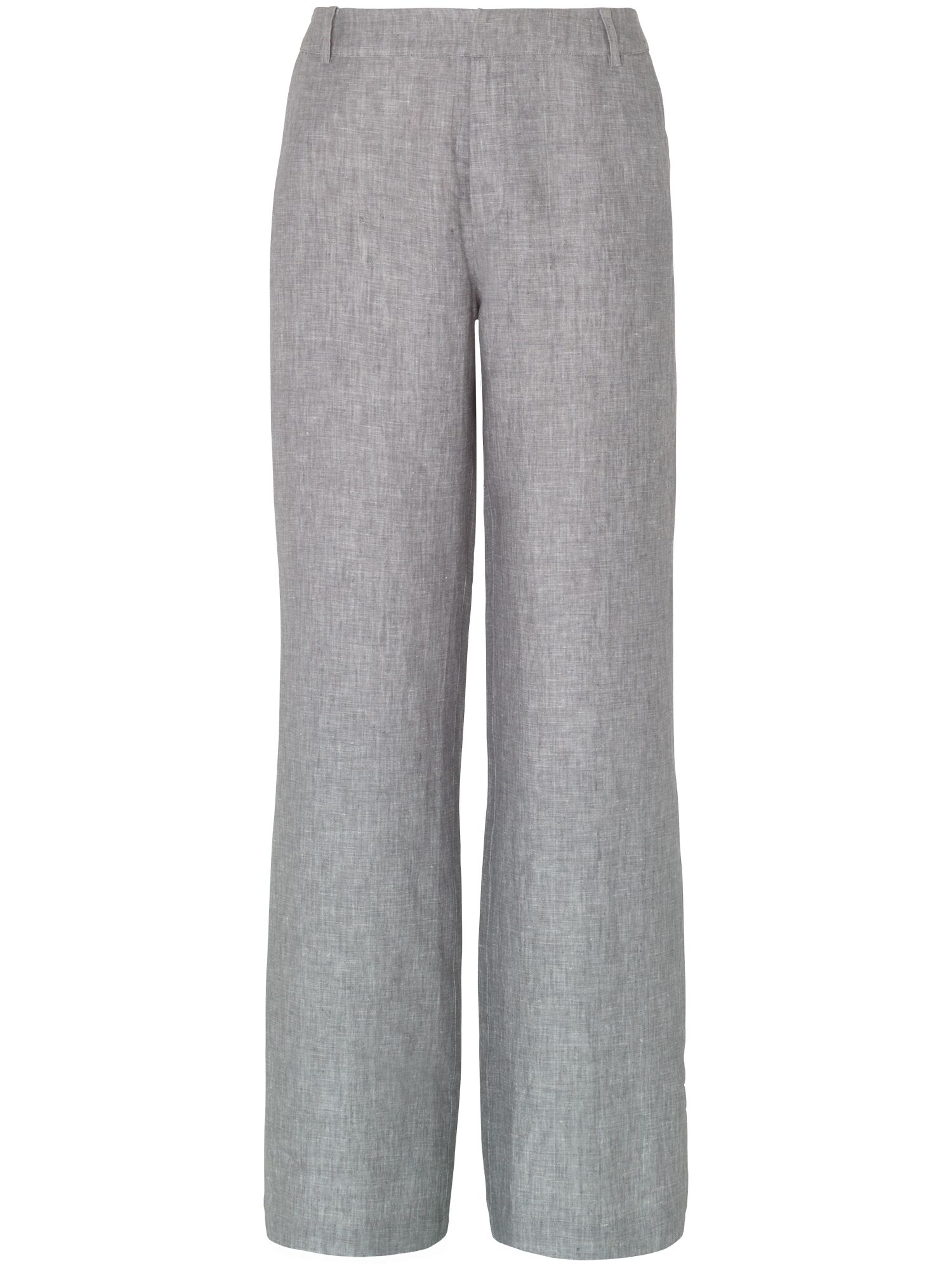 Christiana cross dye linen trousers