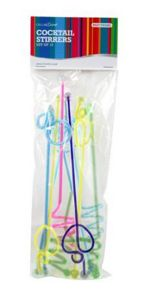 Cocktail stirrers set of 10