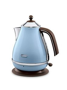 Vintage Icona Blue Kettle
