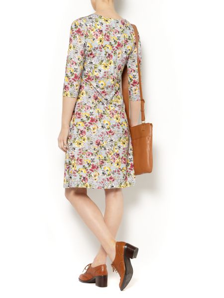 Dickins & Jones Ladies Floral Jersey Dress