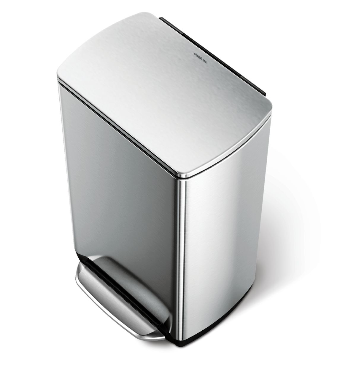 Rectangular step can bin, classic