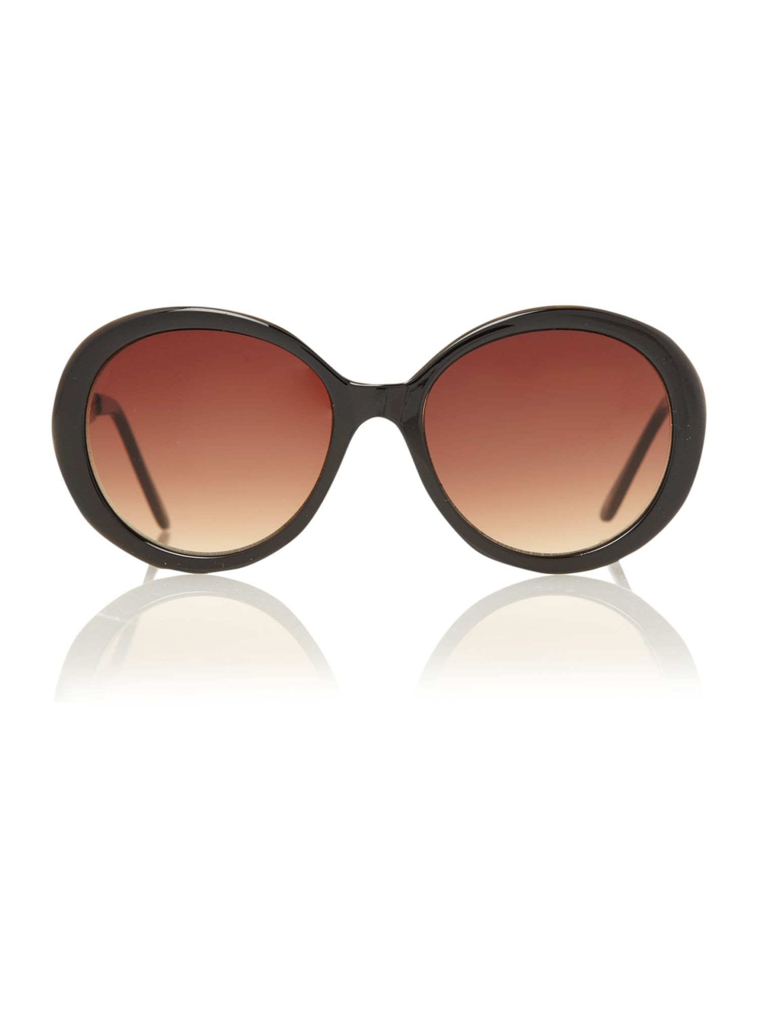 Black circular filagree sunglasses