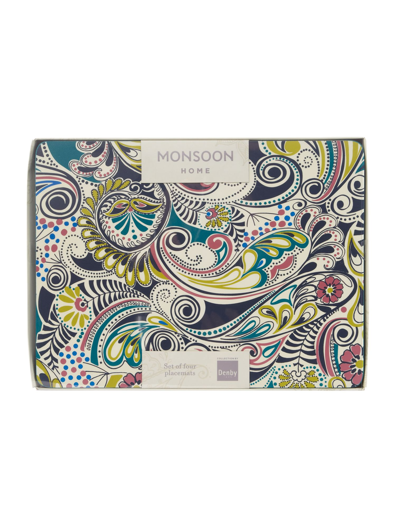 Monsoon cosmic 4 x placemats