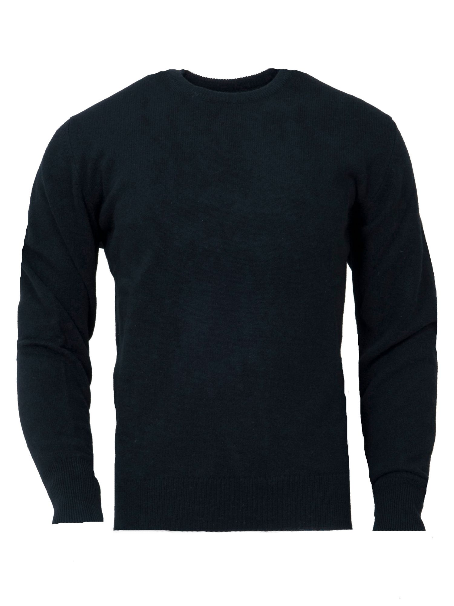 Men`s lambswool round neck jumper
