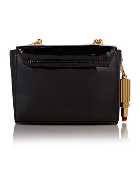 Lulu Guinness Patent leather cross body bag
