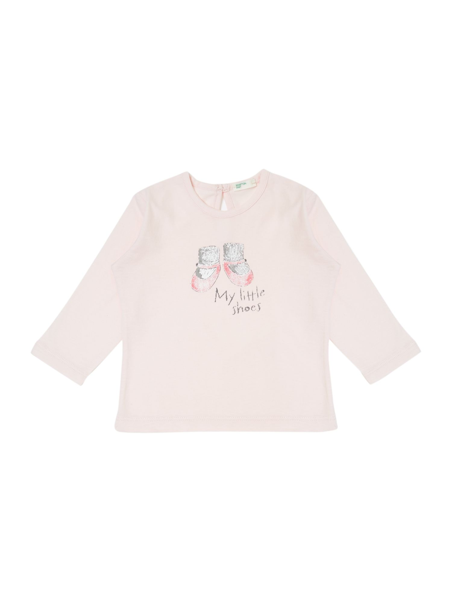 Girl`s ballet shoe graphic T-shirt