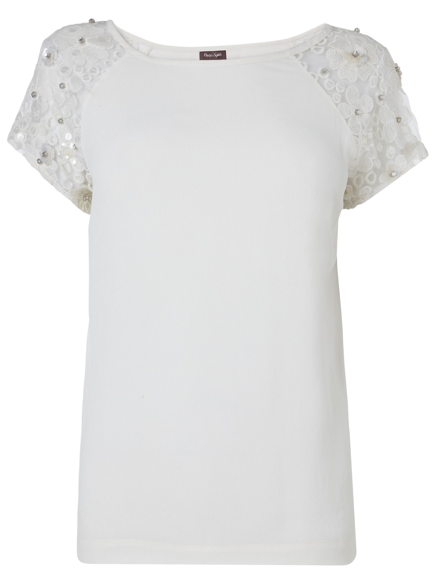 Jules lace sleeve top