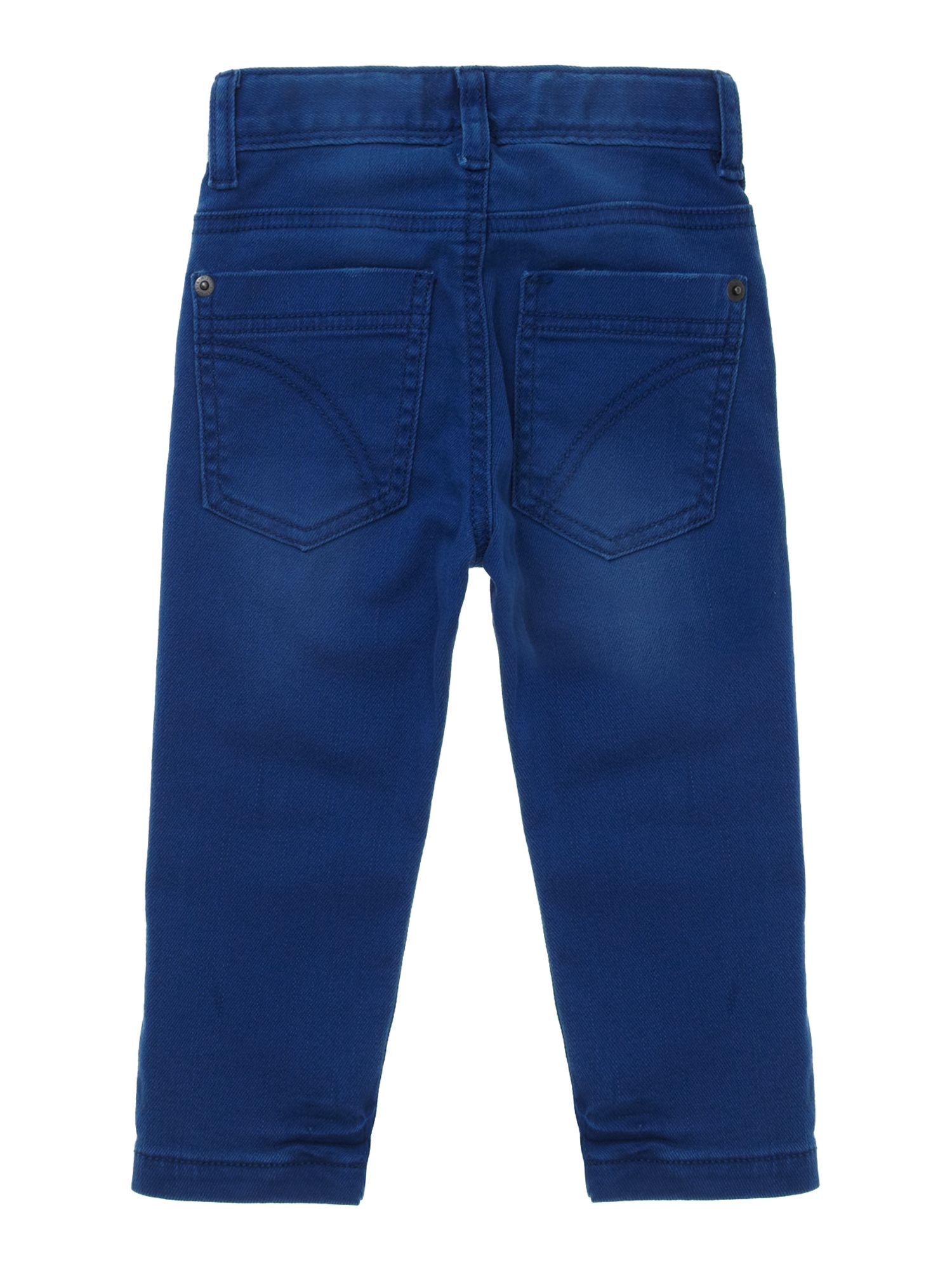 Boy`s skinny fit coloured jeans