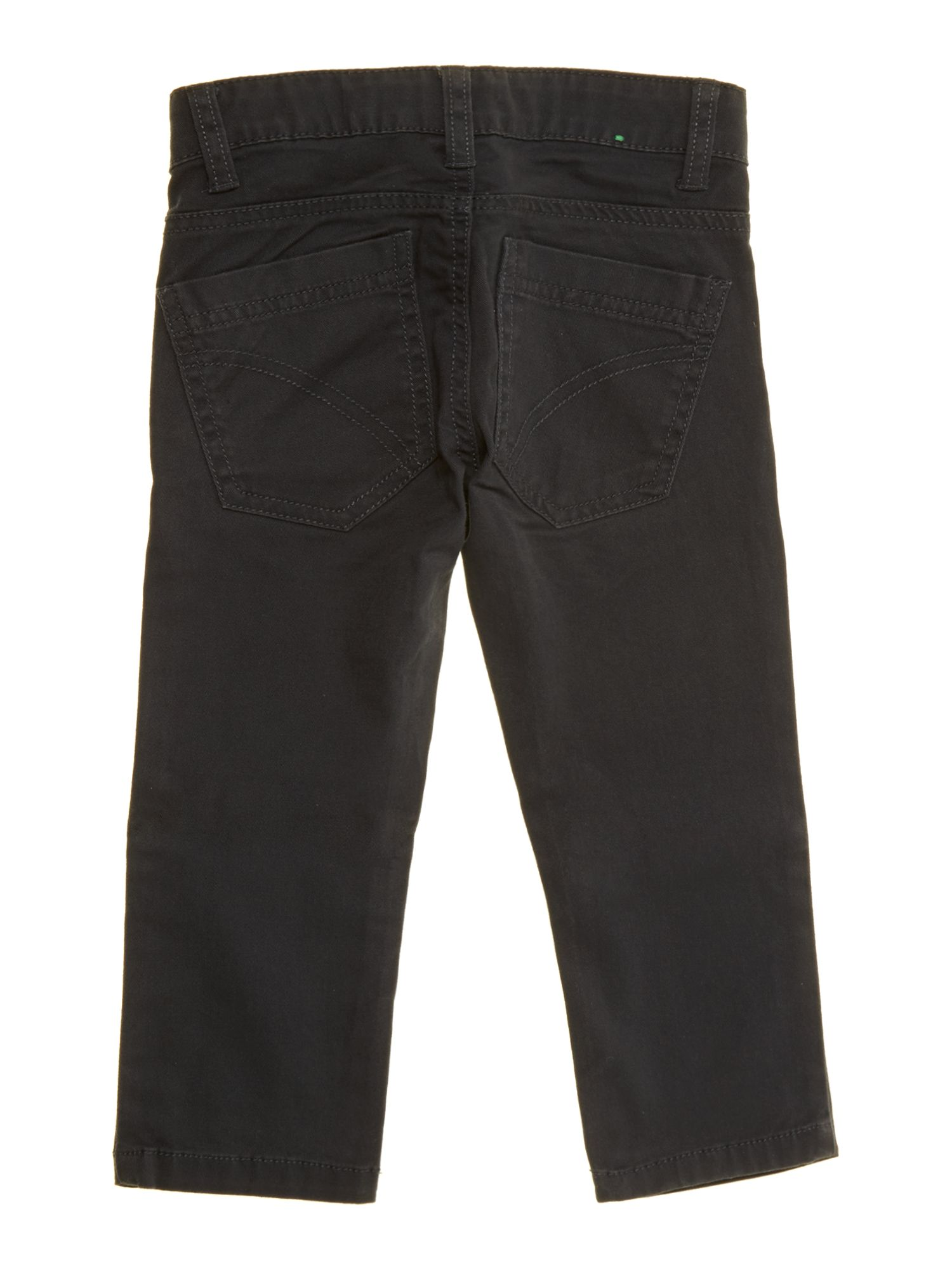 Boy`s slim fit gaberdine trousers