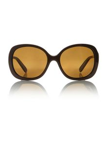 Oakley ladies OO9178 chochlate brown backhand sun
