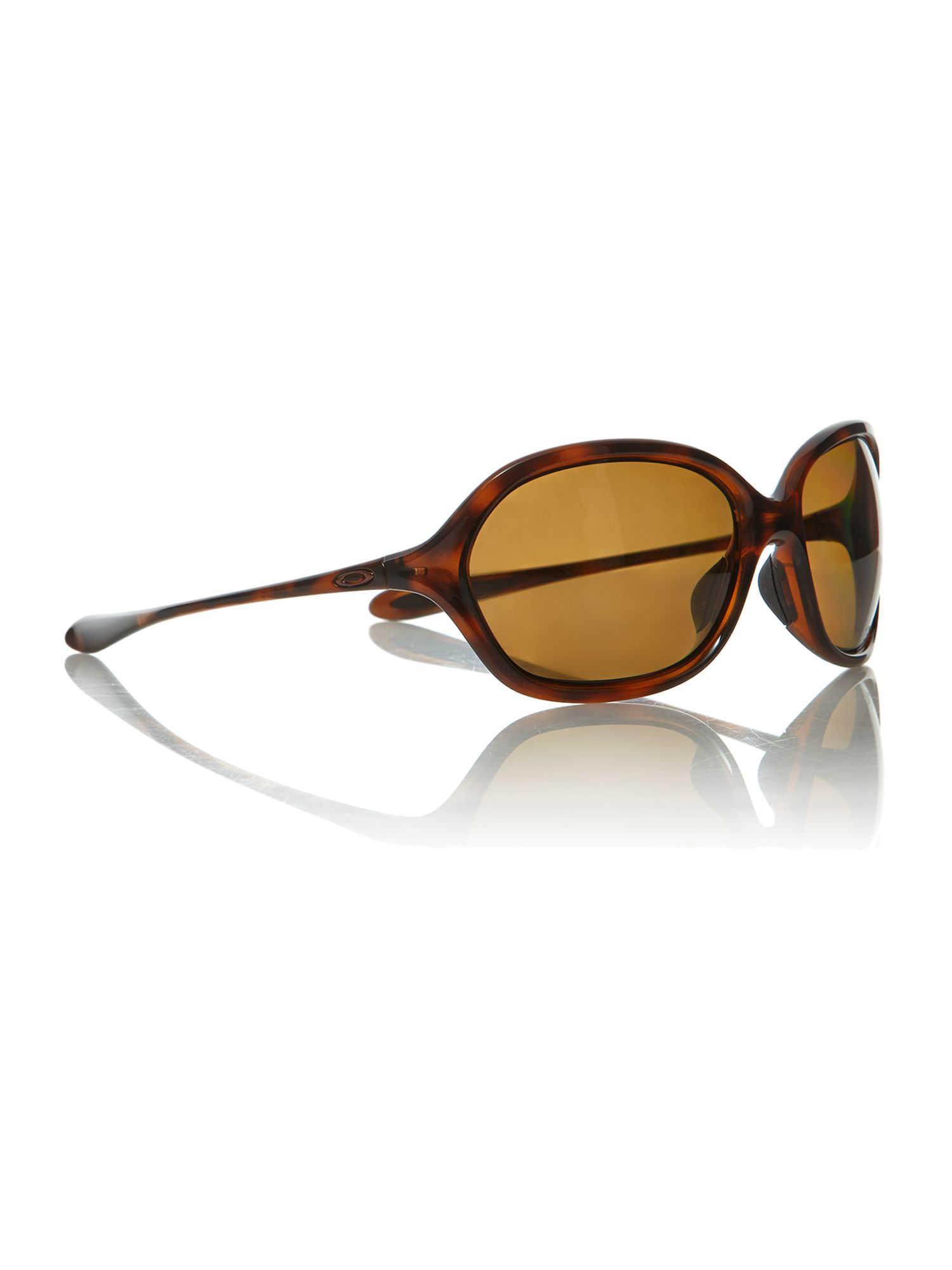 Oakley ladies OO9176 tortoise brown warm up sungl