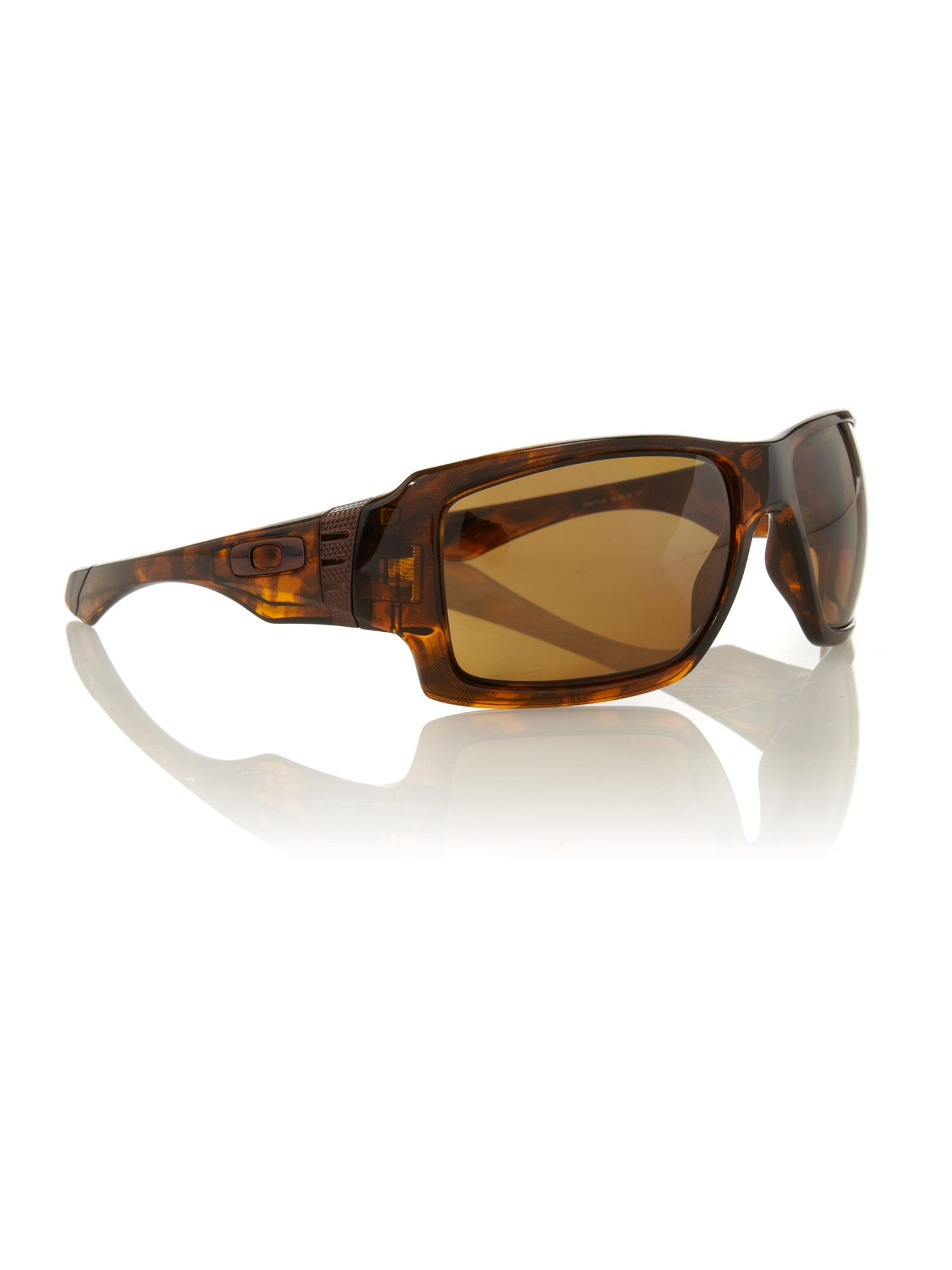 Oakely men`s OO9173 brown sqaure sunglasses