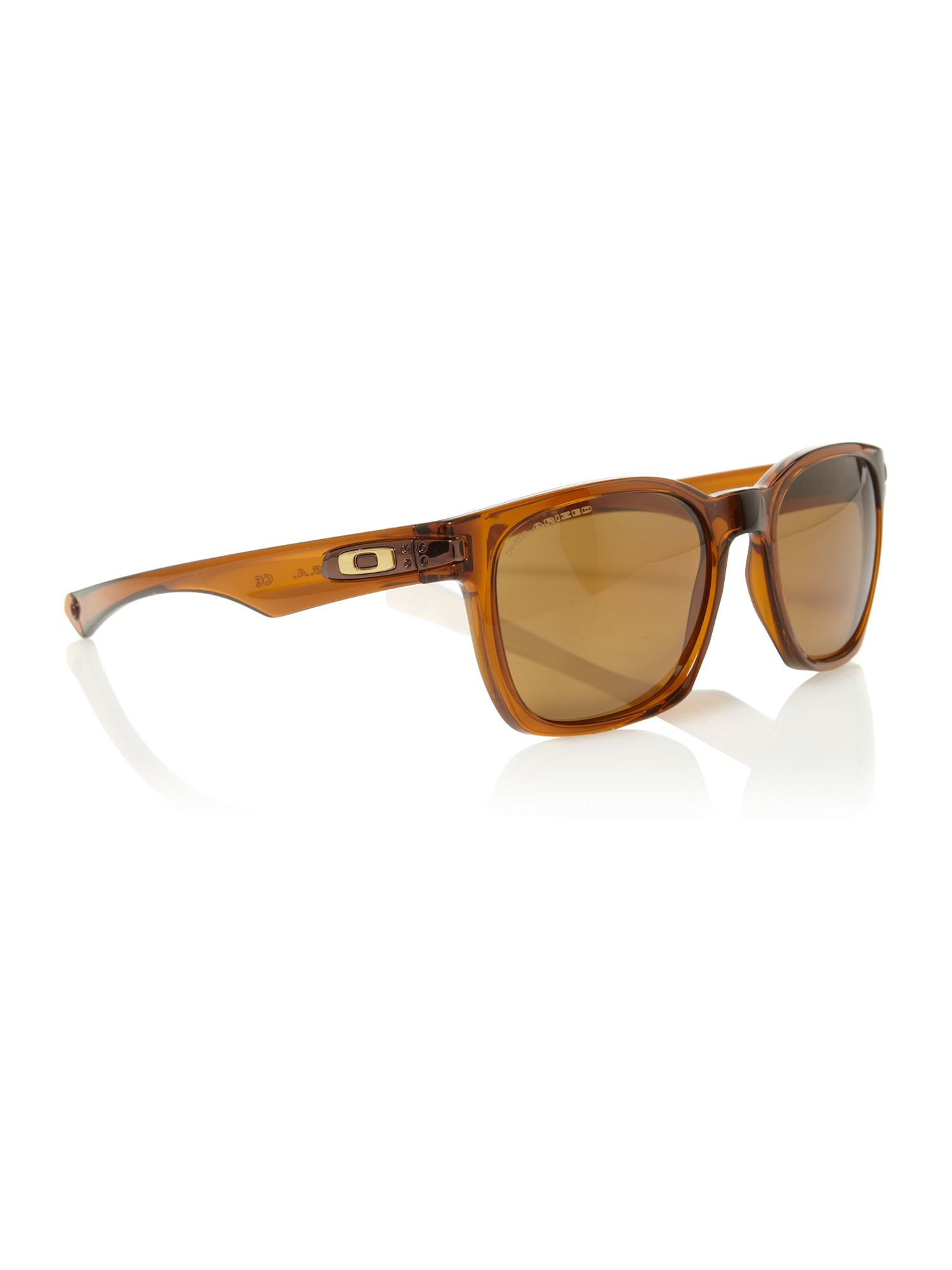 Oakley men`s OO9175 dark amber garage rock sungla