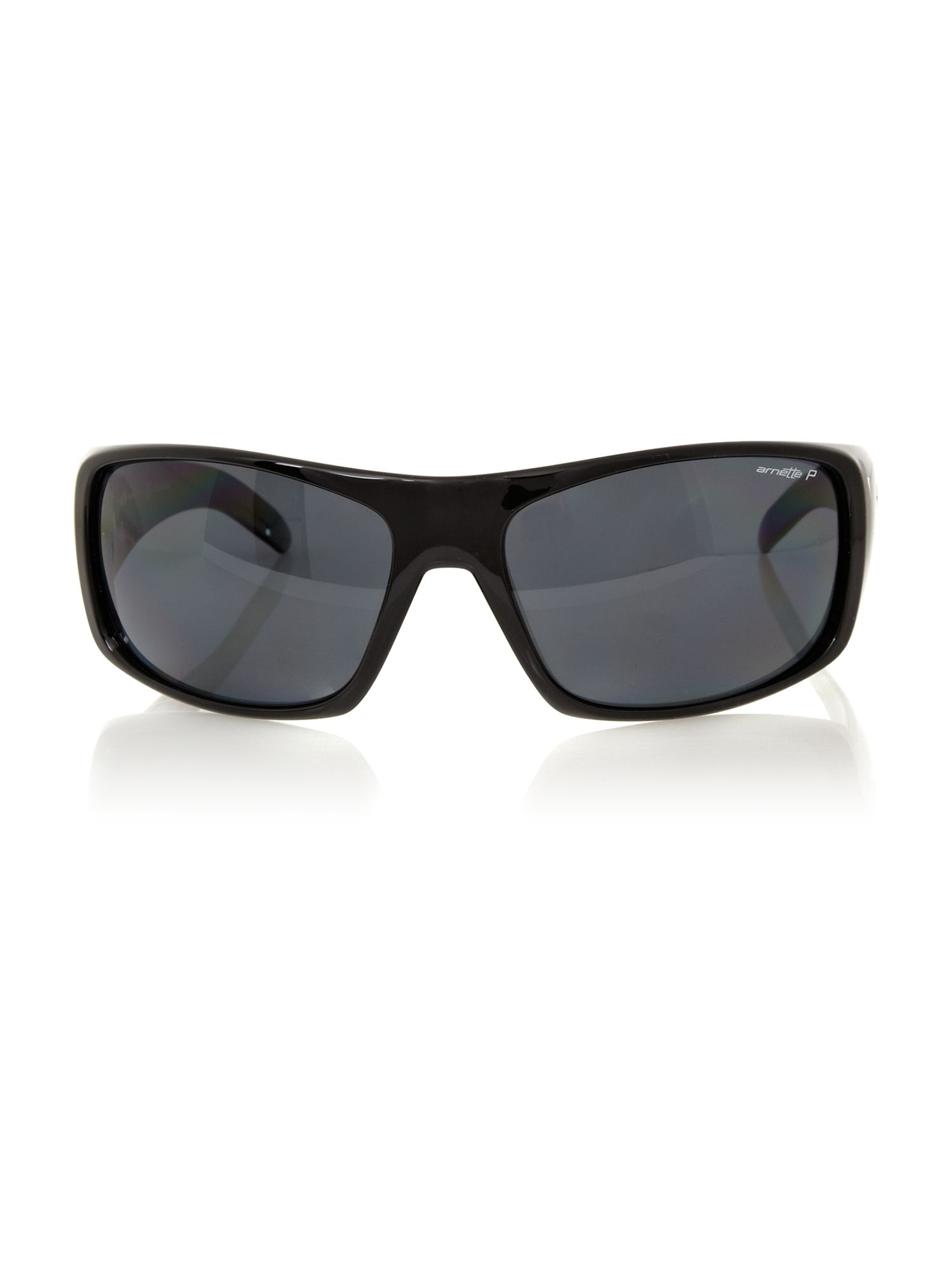 Arnette men`s AN4179 black rectangle sunglasses
