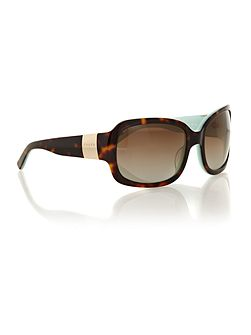 Ralph ladies RA5031 tortoise sqaure sunglasses