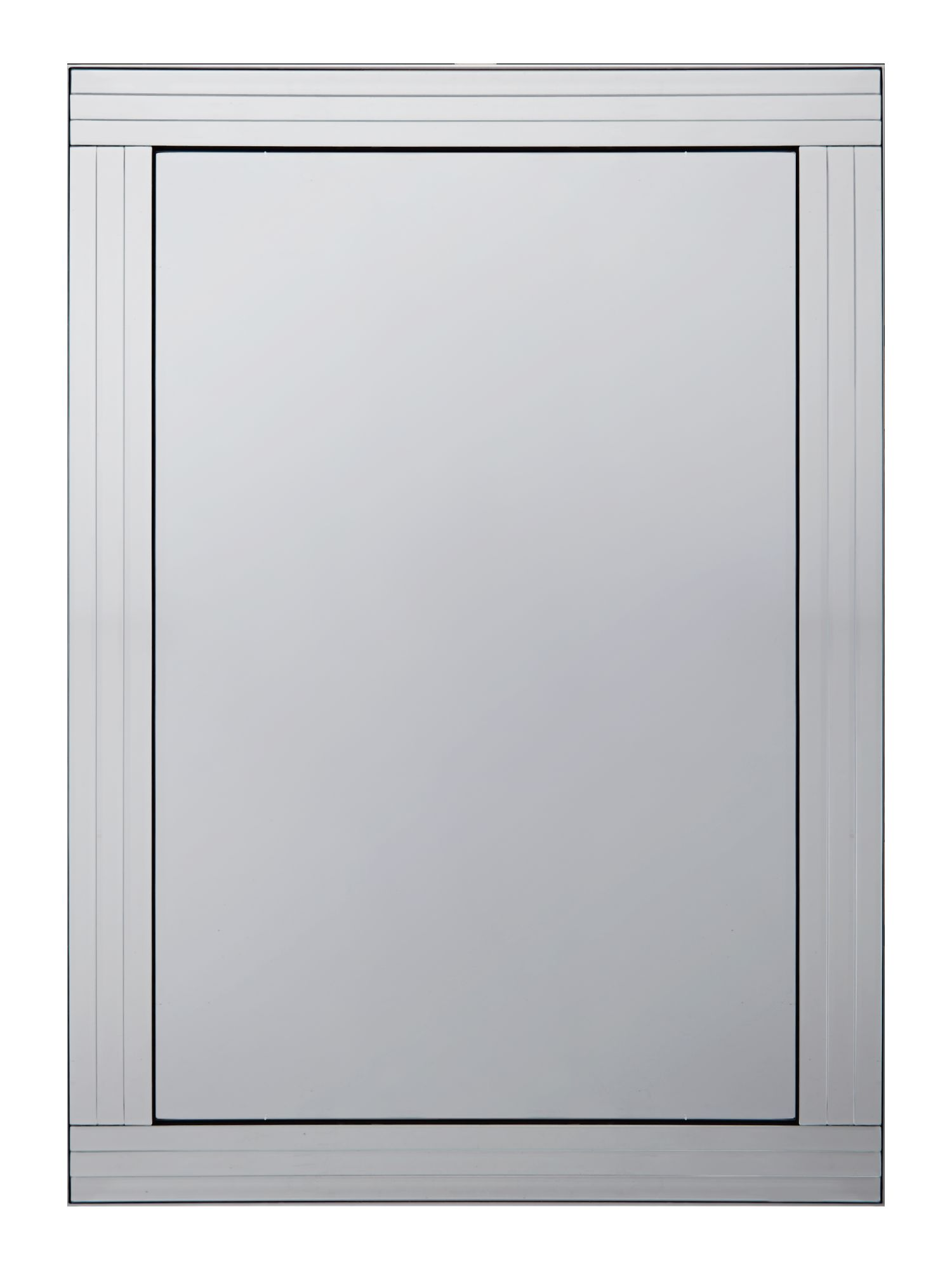 Triple bevel mirror 74cm x 105cm
