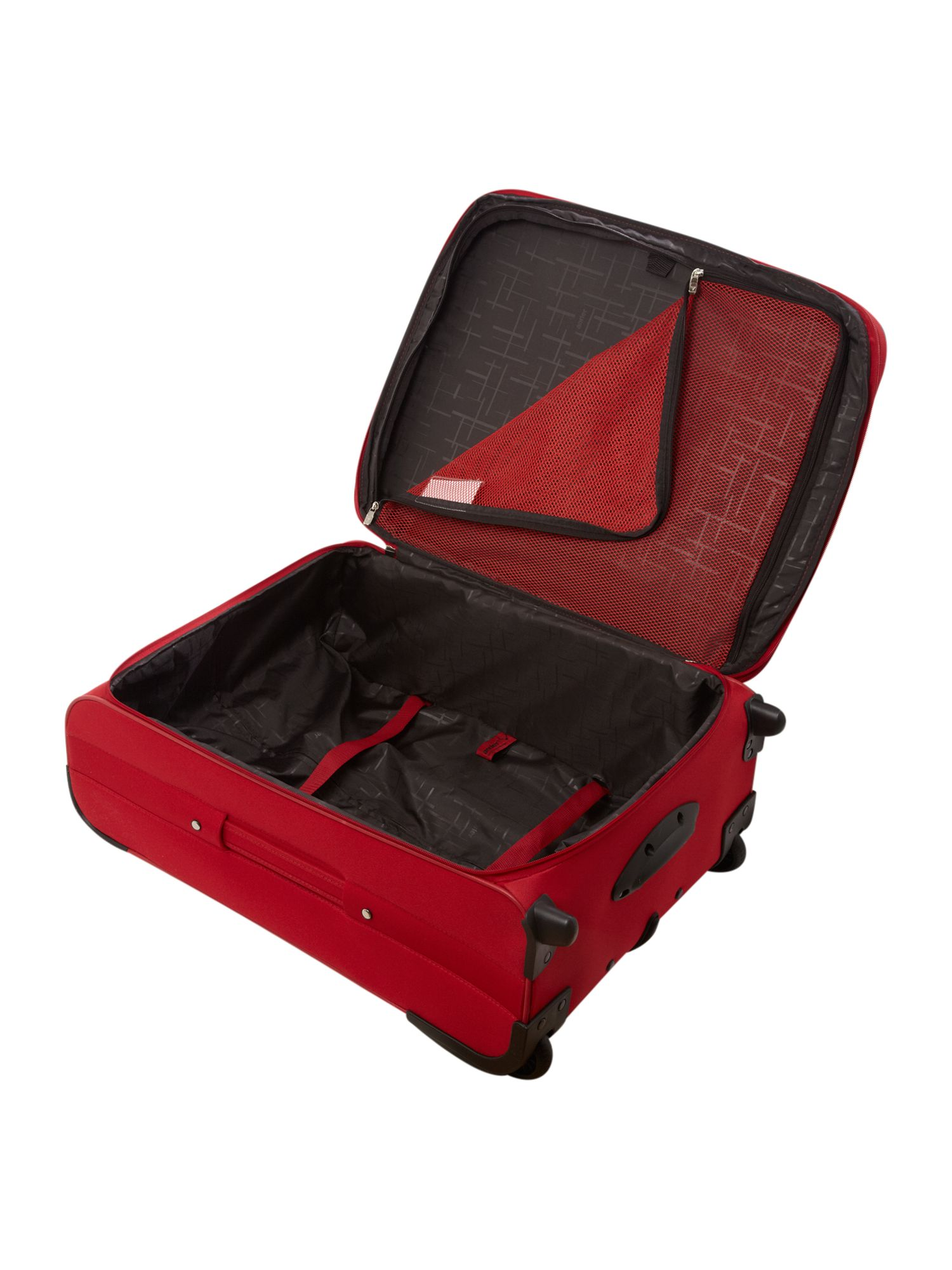 Barina Medium 2 Wheel Rollercase Red